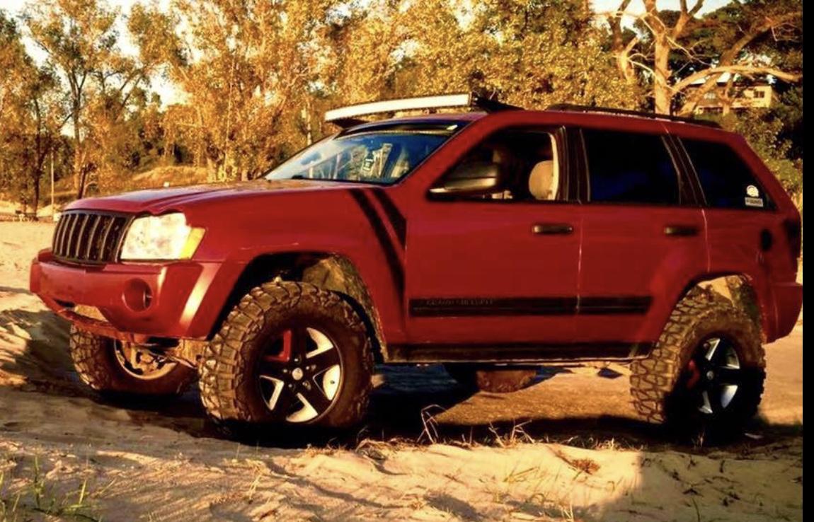 2017 Jeep Cherokee Lifted >> 05-10 Jeep Grand Cherokee WK Bracket Mounts | Jeepers Market